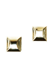 Shoptiques Product: Gold Square Earrings
