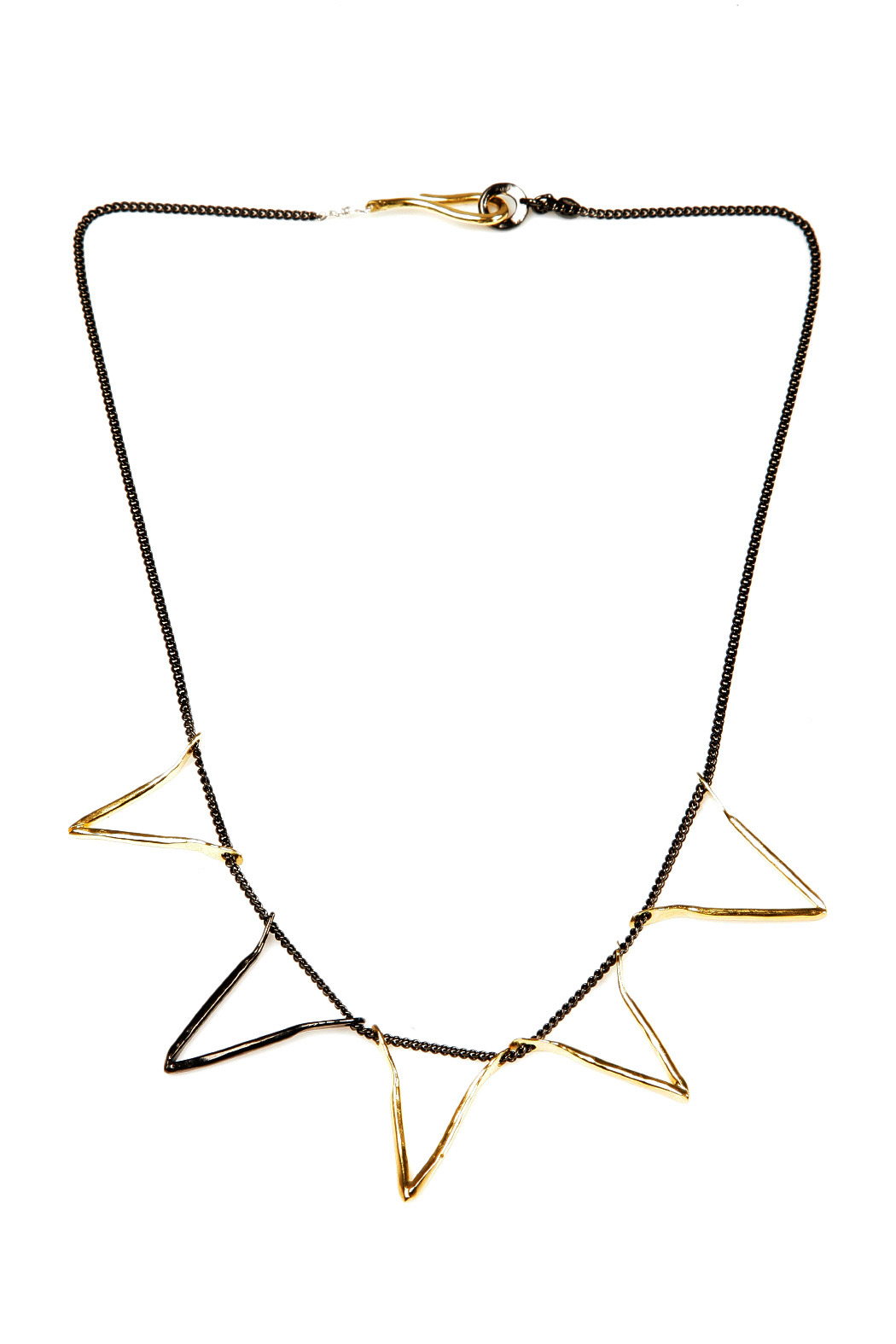 The J Line by Lady J Jewelry Five Valentine Necklace - Front Cropped Image