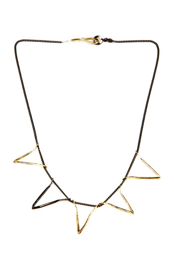 The J Line by Lady J Jewelry Five Valentine Necklace - Main Image