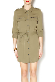 Sanctuary Army Shirt Dress - Product Mini Image
