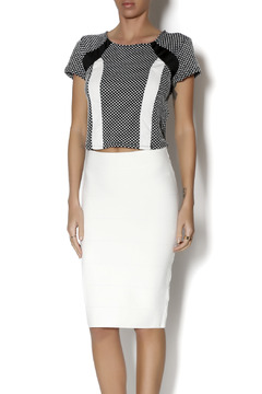 Romeo & Juliet Couture Dotty Crop Top - Product List Image