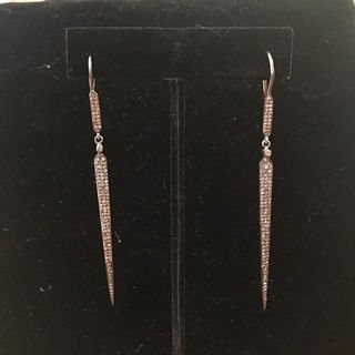 Shoptiques Statement Deco Dagger Earrings