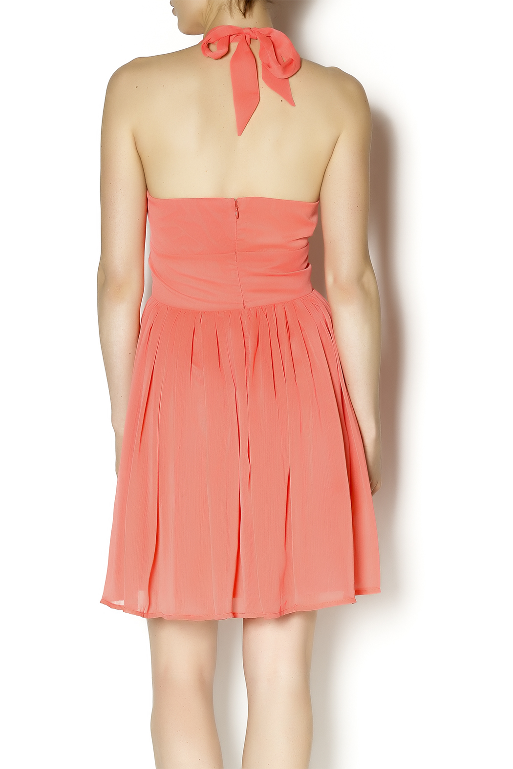 BB Dakota Amrei Halter Dress - Back Cropped Image