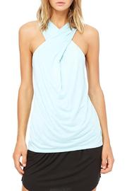 Bella Luxx Cross Drape Tank - Product Mini Image