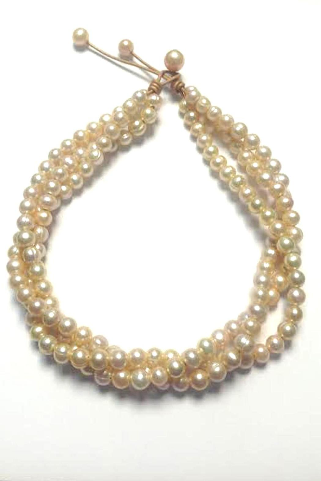 Lily Chartier Pearls Pink Pearl Necklace - Main Image