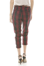 Rails Red Plaid Pants - Back cropped
