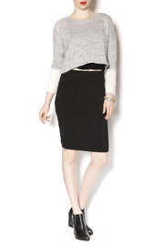 M. Rena Cable Sweater Skirt - Front full body