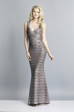 DAVE & JOHNNY A7383 - Prom Dress - Product List Image