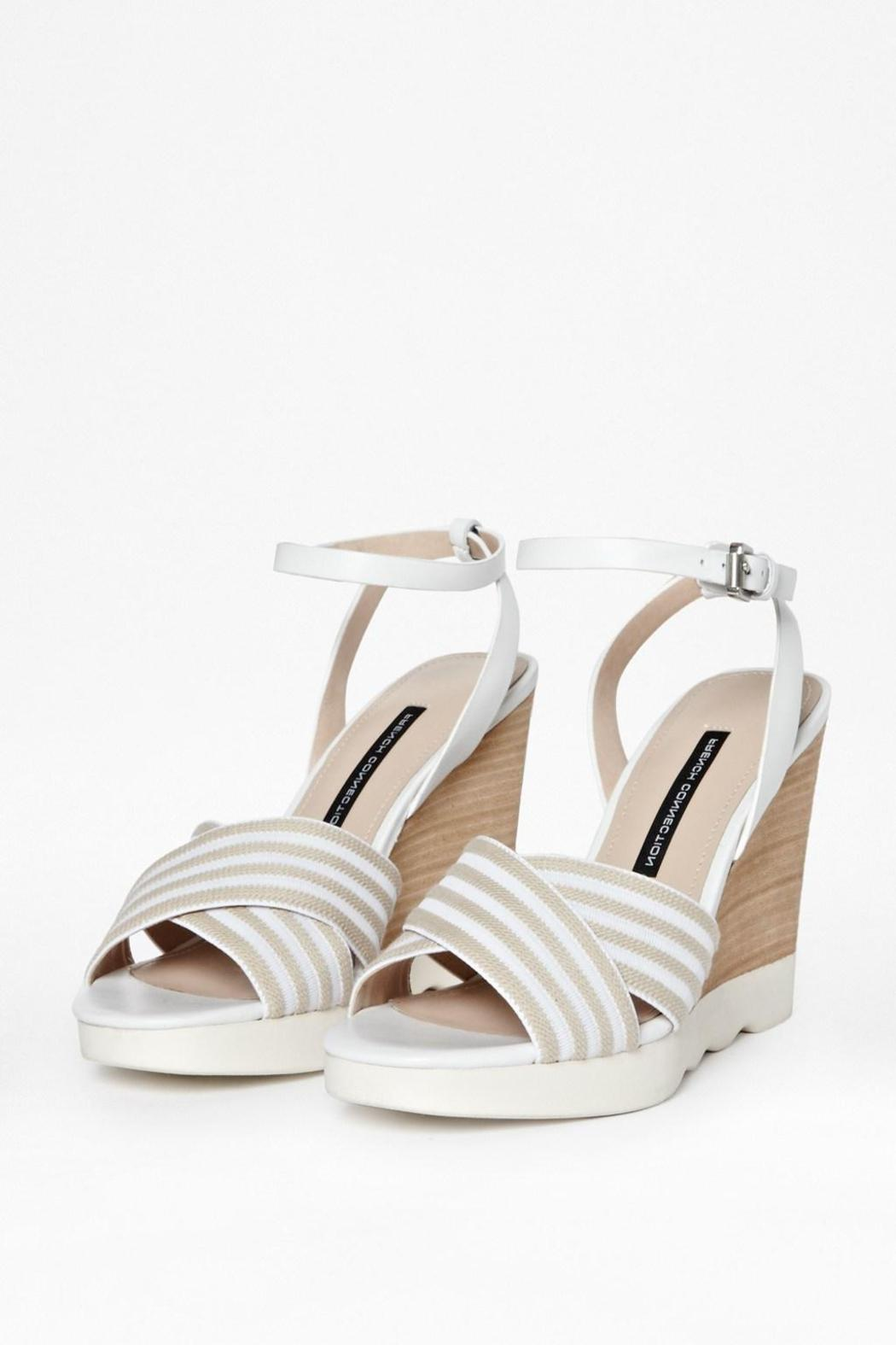 French Connection Seaside Wedge Sandals - Side Cropped Image