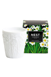 Shoptiques Product: White Narcisse Candle - Front cropped