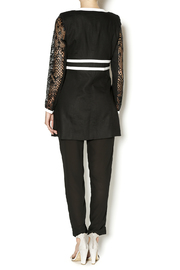 Insight Lace Inset Jacket - Side cropped
