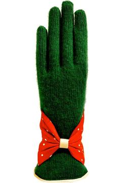 Shoptiques Product: Wool Leather Gloves