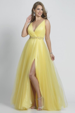 DAVE & JOHNNY A8070 - Prom Dress - Product List Image