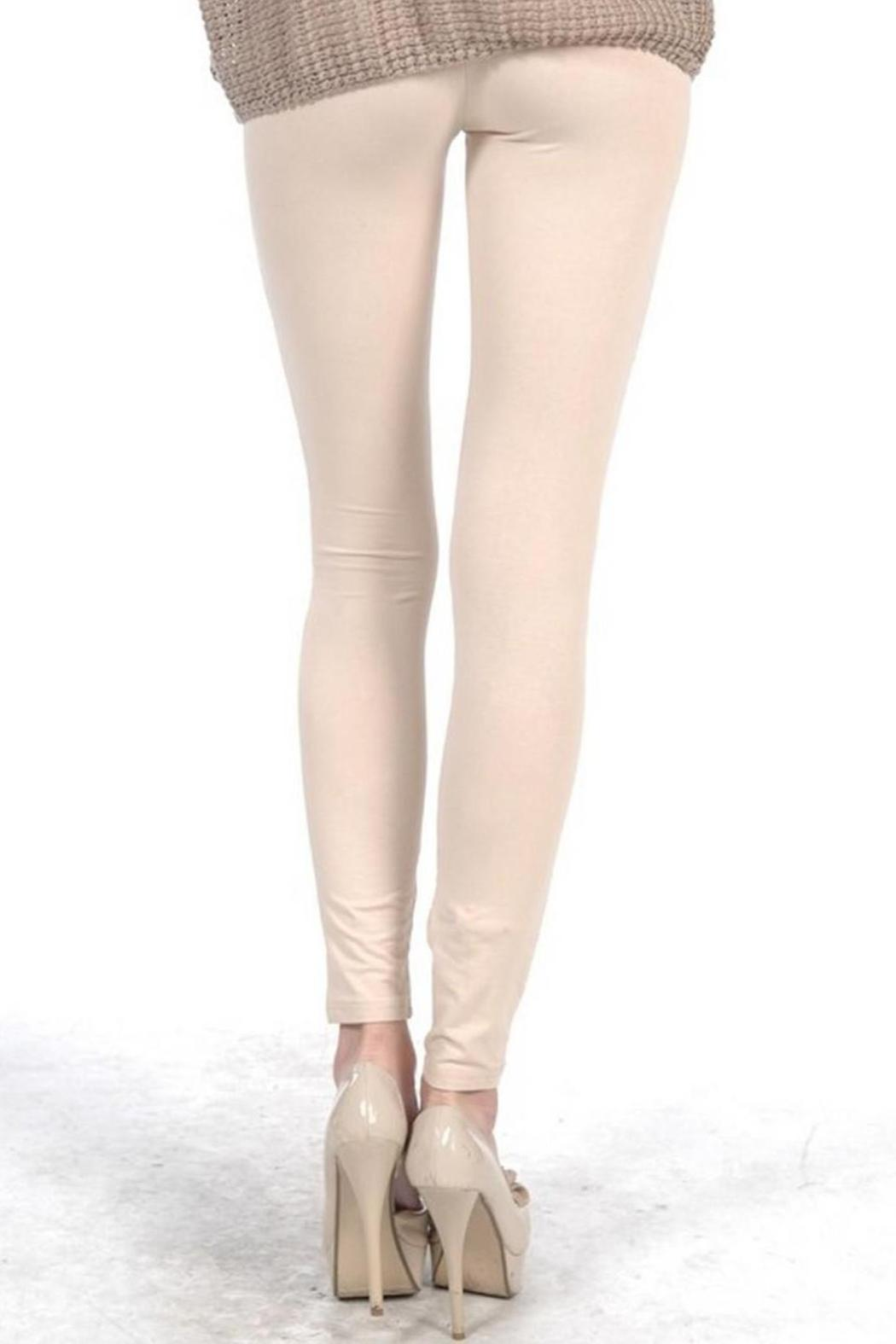 Abby Amp Taylor Cream Lace Leggings From Florida Shoptiques