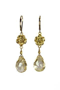 Melinda Lawton Jewelry Rutilated Quartz Earrings - Product List Image