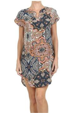 Freeway Apparel Paisley Mini Dress - Product List Image