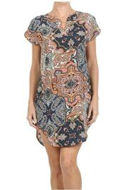 Freeway Apparel Paisley Mini Dress - Product Mini Image