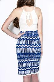 Dolce Vita Highneck Fitted Dress - Front full body