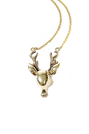 V-Treize Deer Necklace - Product Mini Image