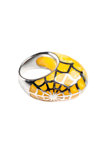Shoptiques Product: Spider Web Ring - main