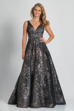 DAVE & JOHNNY A9385w - Prom Dress - Product List Image
