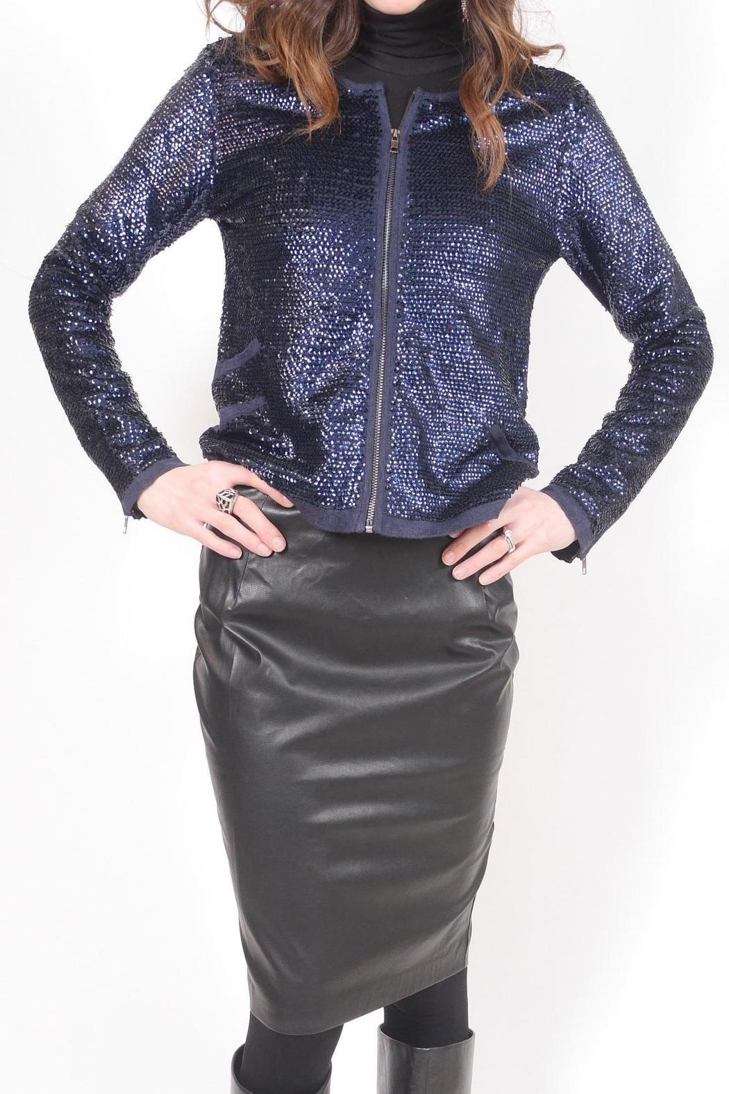 Sequin Jacket - Front Cropped Image