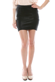 Shoptiques Product: Coated Miniskirt