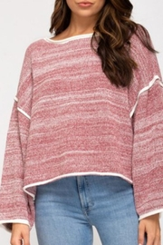 a beauty by bnb Emory Two-Tone Sweater - Product Mini Image