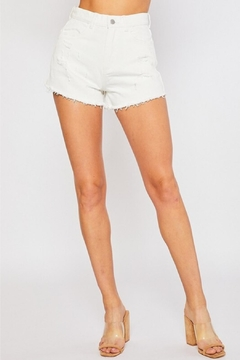 Shoptiques Product: Hi-Rise Denim Short