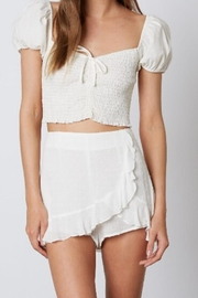 a beauty by bnb Ruffle Trim Skort - Product Mini Image