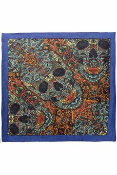 A Little Bit Hippy 3d Skull Bandana - Alternate List Image