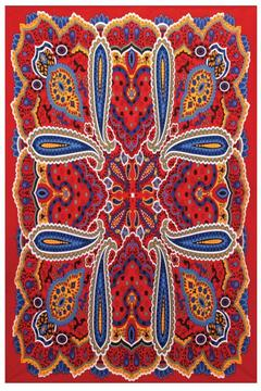 A Little Bit Hippy Bright Paisley Tapestry - Alternate List Image
