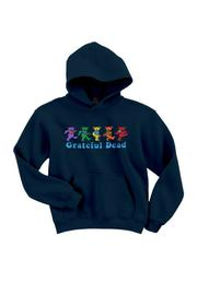 A Little Bit Hippy Dancing Bears Hoodie - Product Mini Image