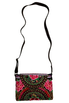 A Little Bit Hippy Embroidered Thai Purse - Alternate List Image