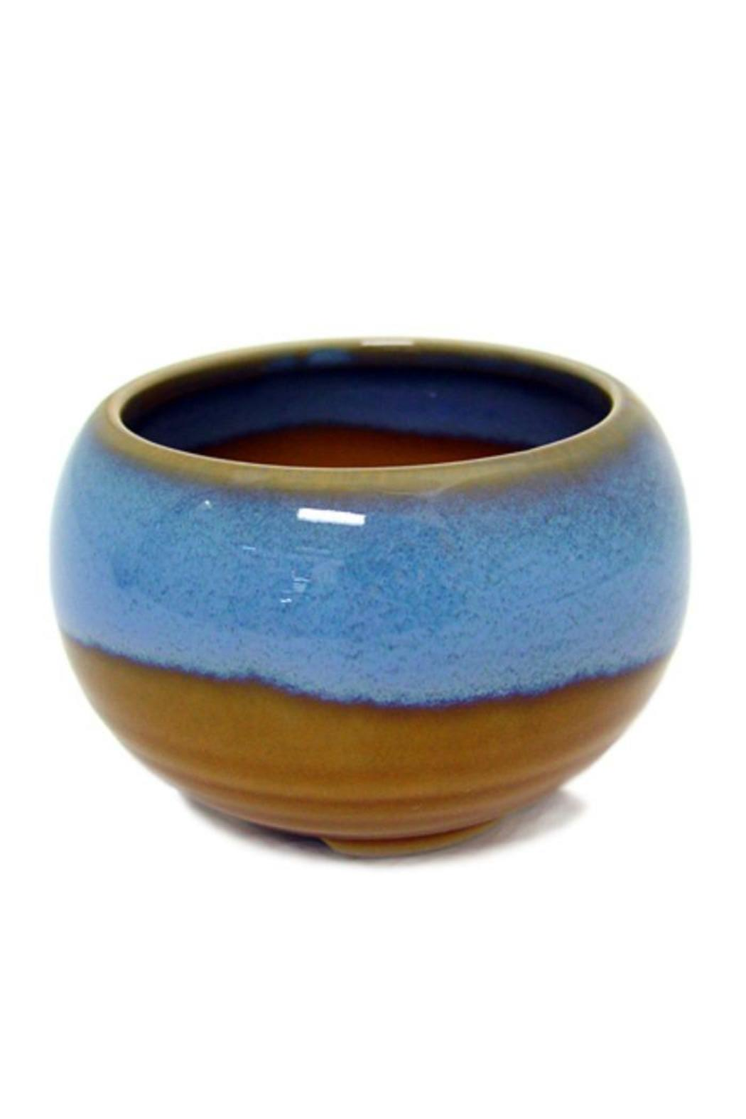 A Little Bit Hippy Glazed Incense Bowl - Front Cropped Image