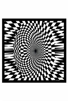 Shoptiques Product: Optical Illusion Bandana