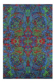A Little Bit Hippy Psychedelic Art Tapestry - Product Mini Image