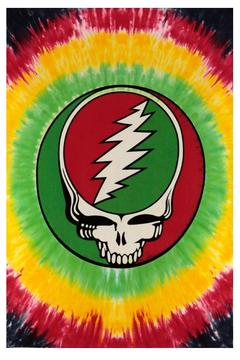 A Little Bit Hippy Rasta Mini Tapestry - Alternate List Image