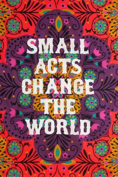 A Little Bit Hippy Small Acts Tapestry - Alternate List Image