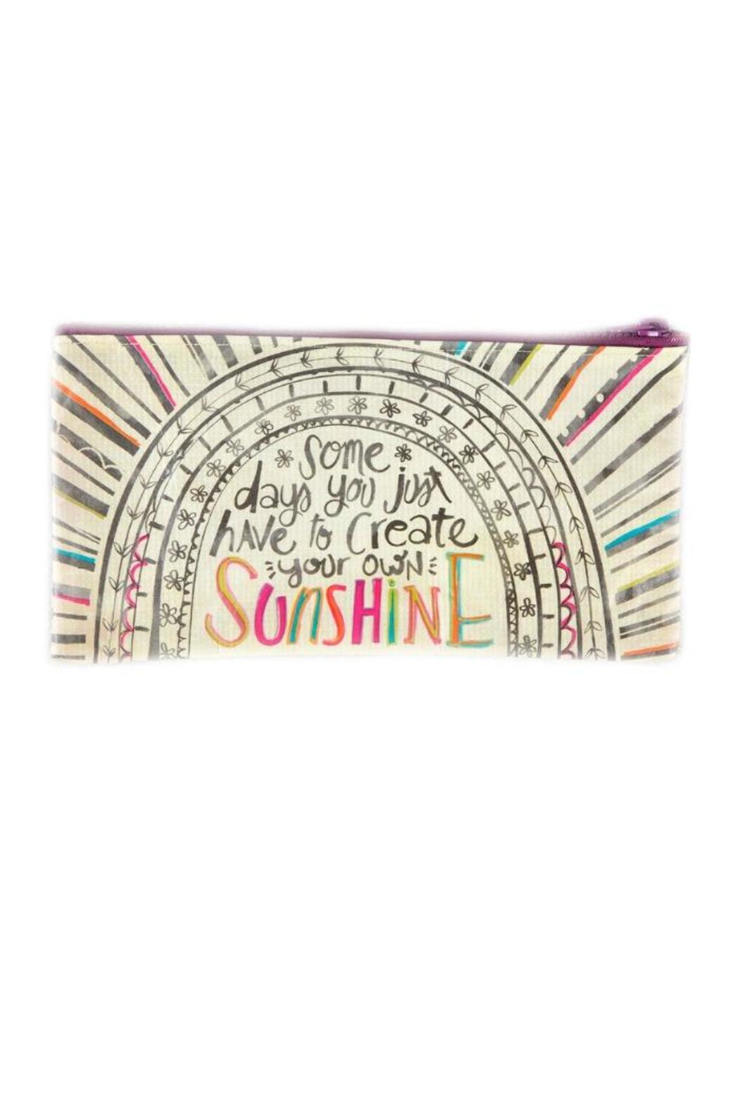 A Little Bit Hippy Sunshine Pencil Bag - Main Image