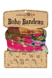 A Little Bit Hippy Tie Dye Bandeau - Product Mini Image