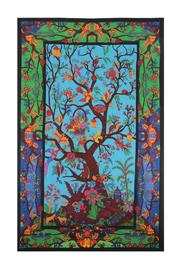 A Little Bit Hippy Tree Of Life Tapestry - Product Mini Image