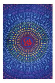 A Little Bit Hippy Universal Om Tapestry - Product Mini Image