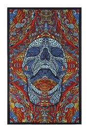 A Little Bit Hipyy Mindful Skull Tapestry - Product Mini Image