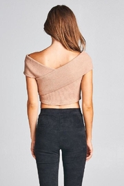 A Peach Crop Pearl Sweater Top - Other