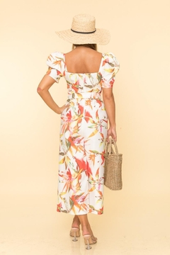 A Peach Leaf Culotte Jumpsuit - Alternate List Image