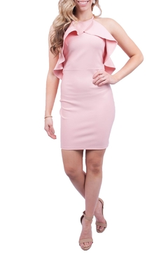 A Peach Pink Bodycon Dress - Product List Image