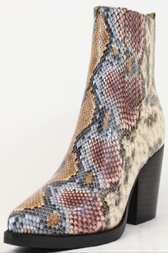 A RIDER GIRL  Snake Skin Bootie - Alternate List Image