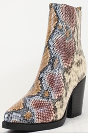 A RIDER GIRL  Snake Skin Bootie - Product Mini Image