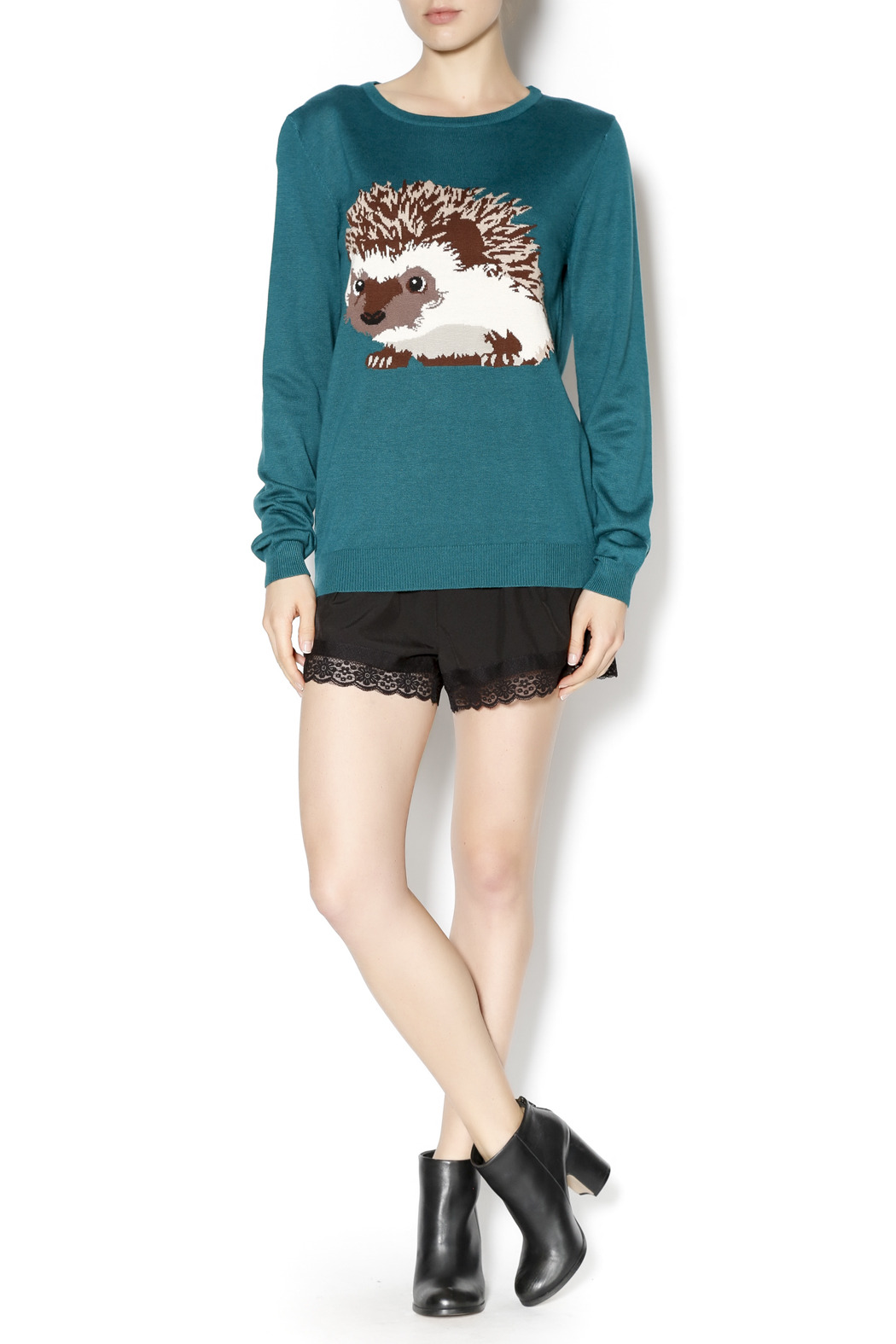 Hedgehog Christmas Jumper.Sugarhill Boutique Hedgehog Sweater From Indiana By Ivy